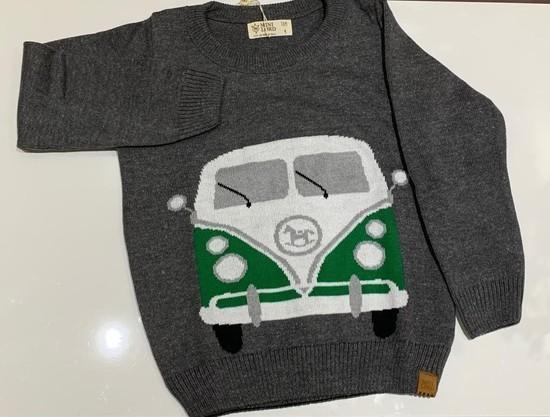 Sweater Tricot Infantil Kombi
