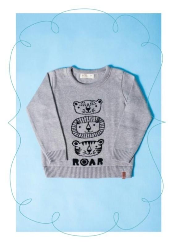 Sweater Tricot Infantil Selva