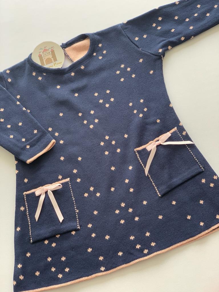 Vestido Amelia tricot baby