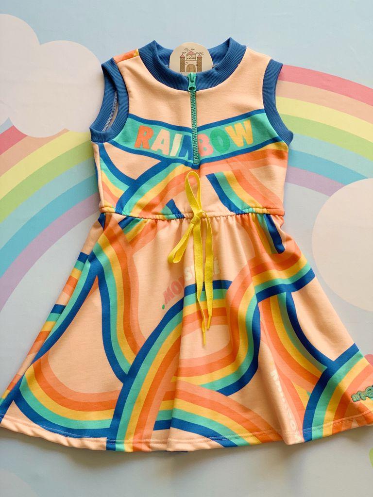 Vestido Color Rainbow
