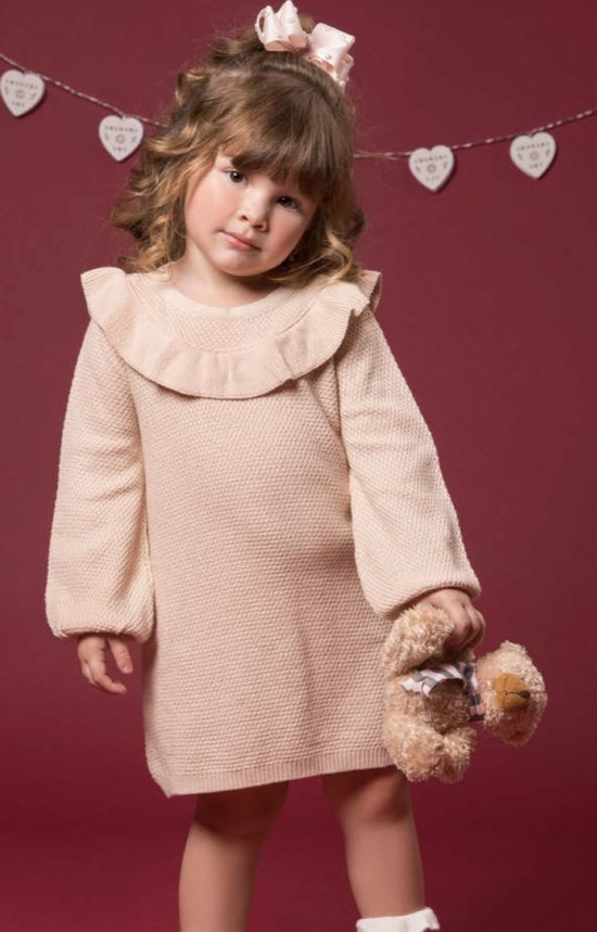 Vestido Diana tricot rose