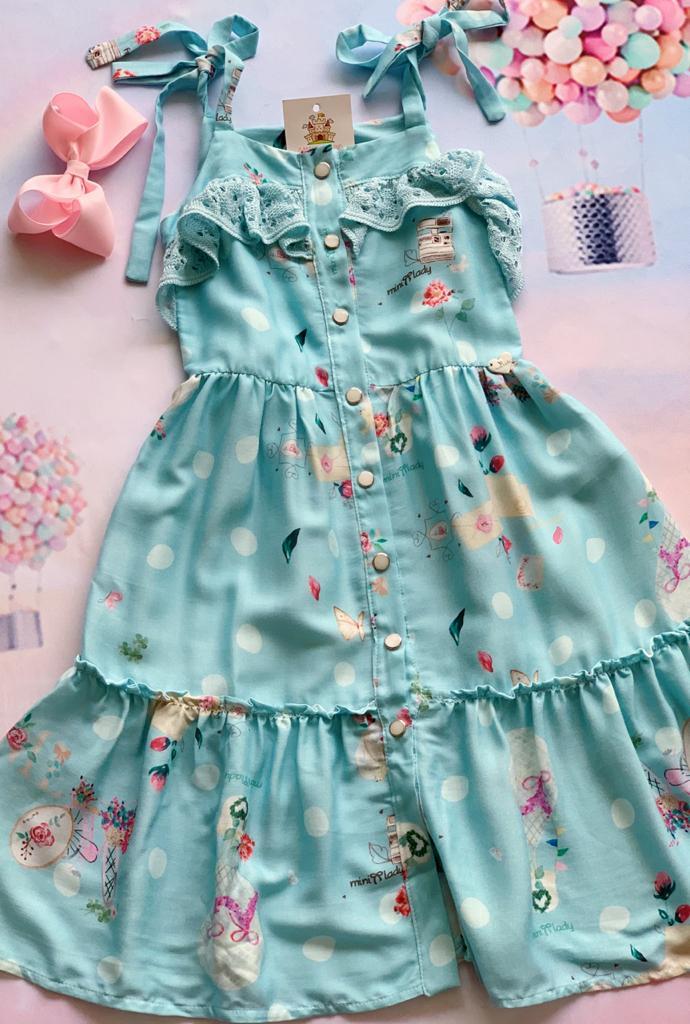 Vestido Emilia azul