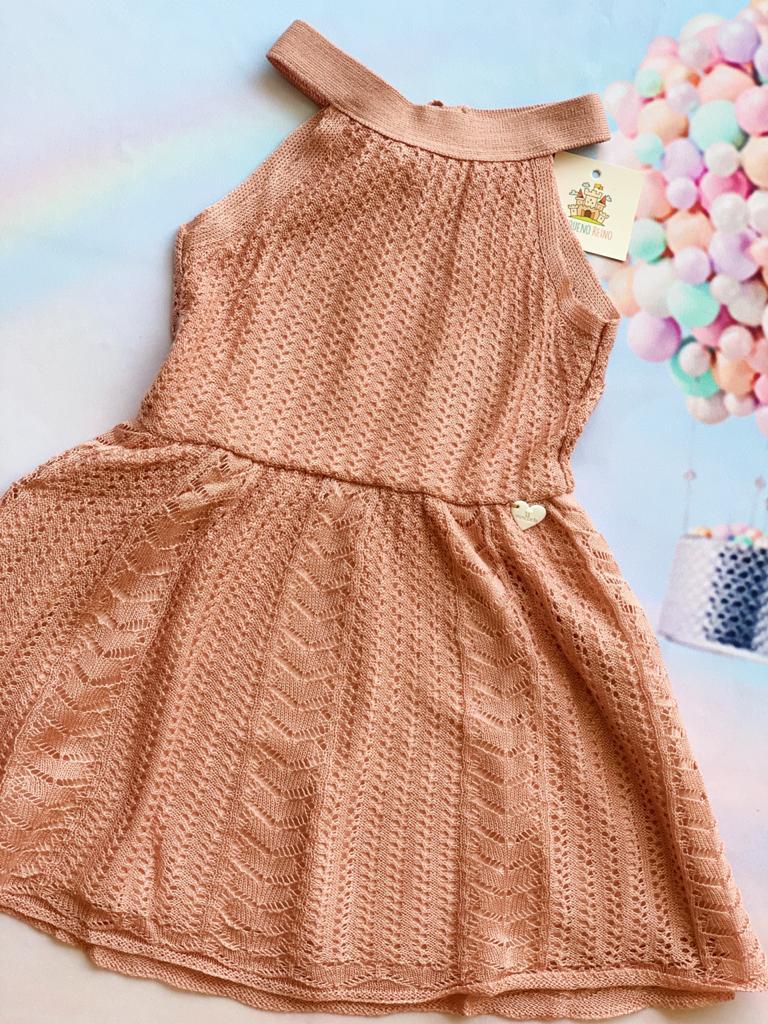 Vestido Tricot Lucia Rosa