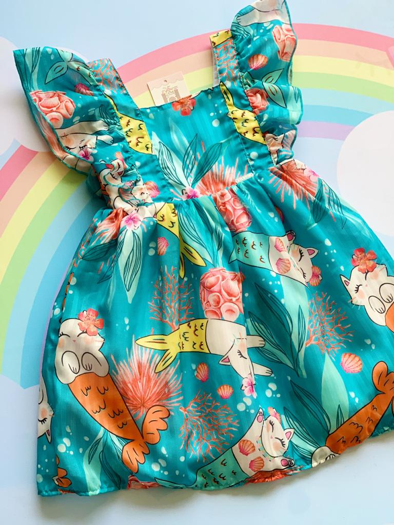 Vestido Mermaid Cat