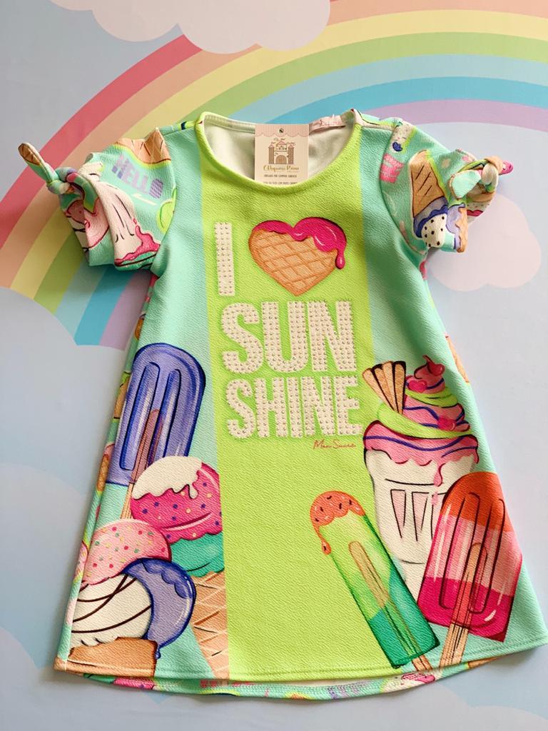 Vestido Sorvetes do Verão