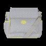 Baby bag classica star cinza