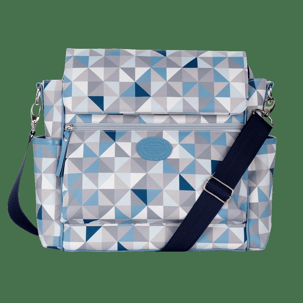 Baby bag classica geometric azul