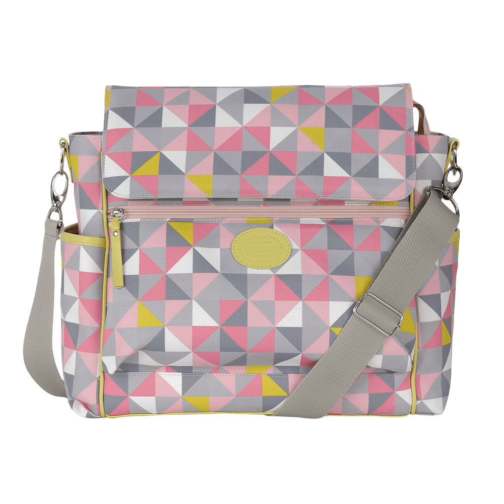 Baby bag classica geometric rosa