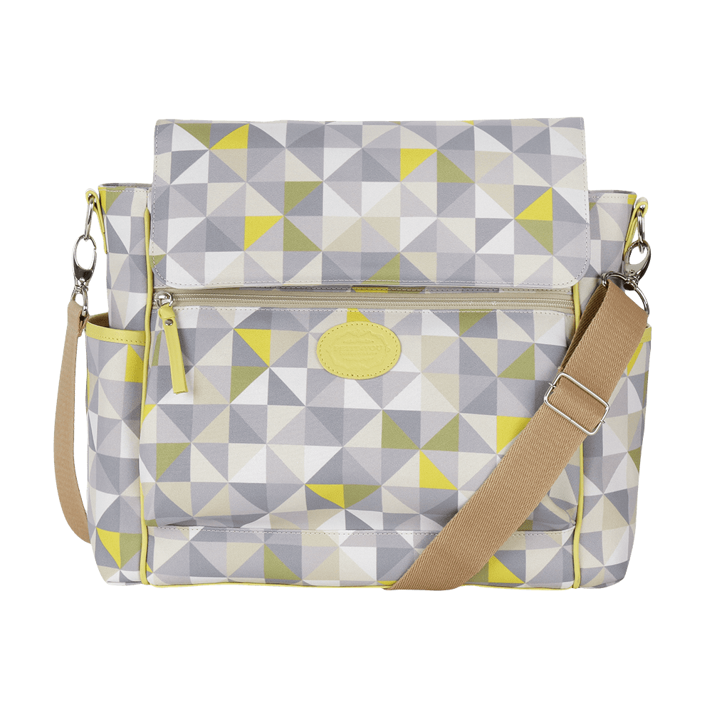 Baby Bag Clássica Geometric Verde