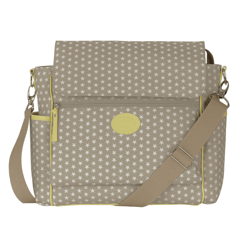 Baby bag classica star bege