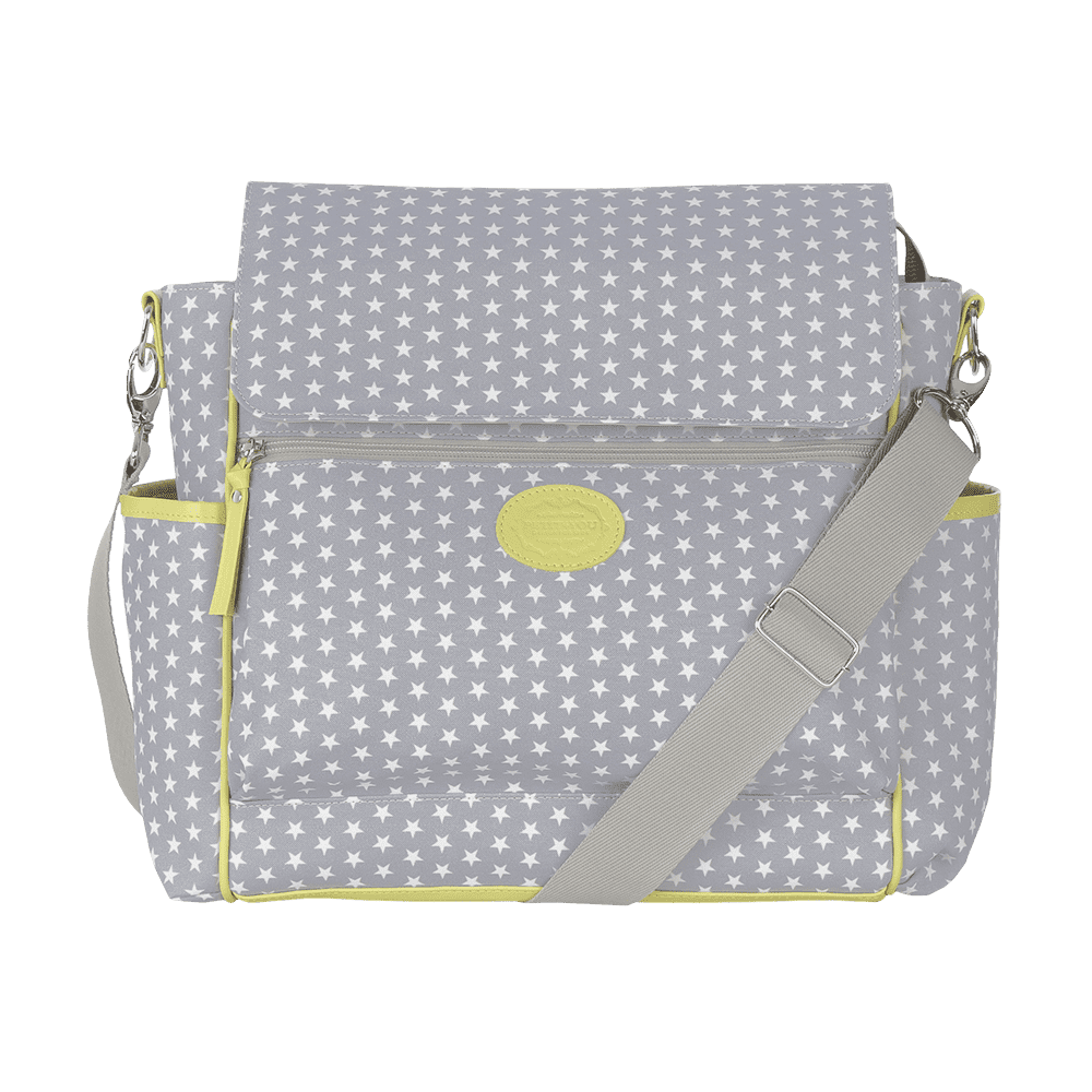 Baby bag classica star cinza
