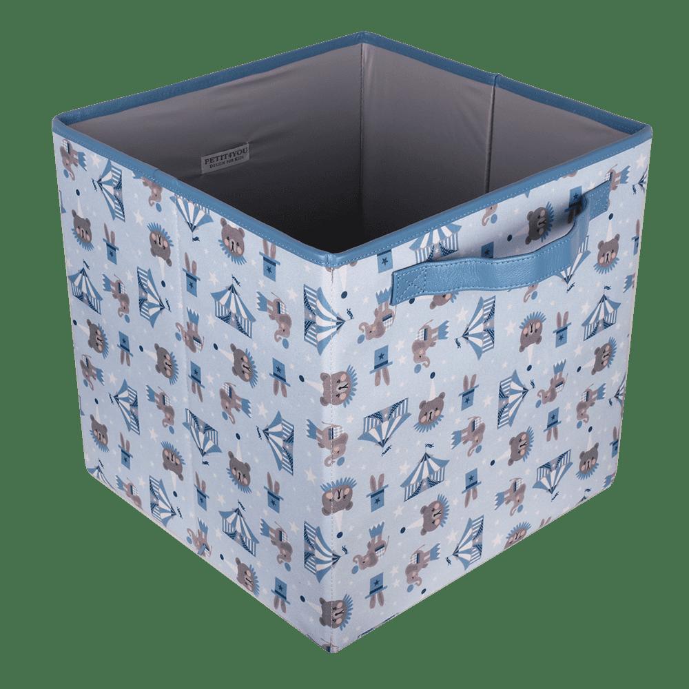 Caixa Dobrável Circus Azul