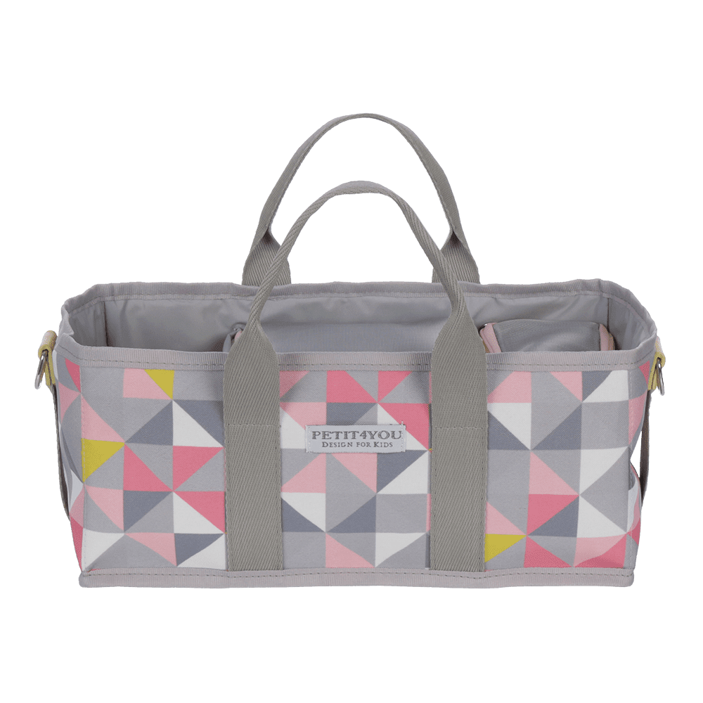 Kit multiuso geometric rosa