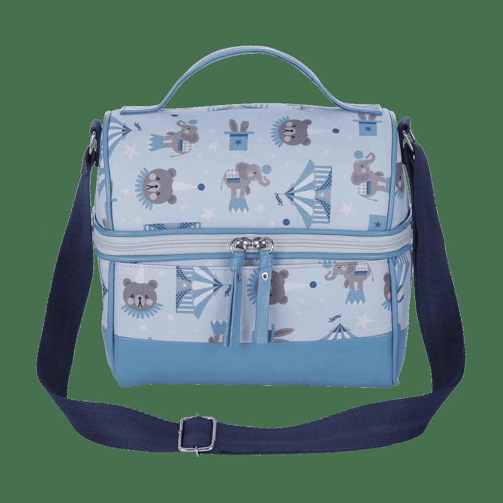 Lancheira Circus Azul