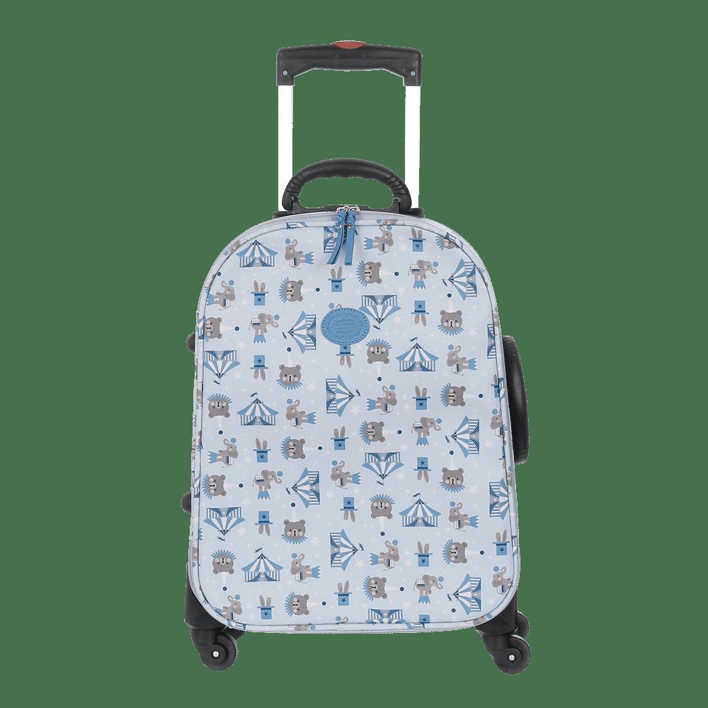 Mala de  Rodinha Circus Azul