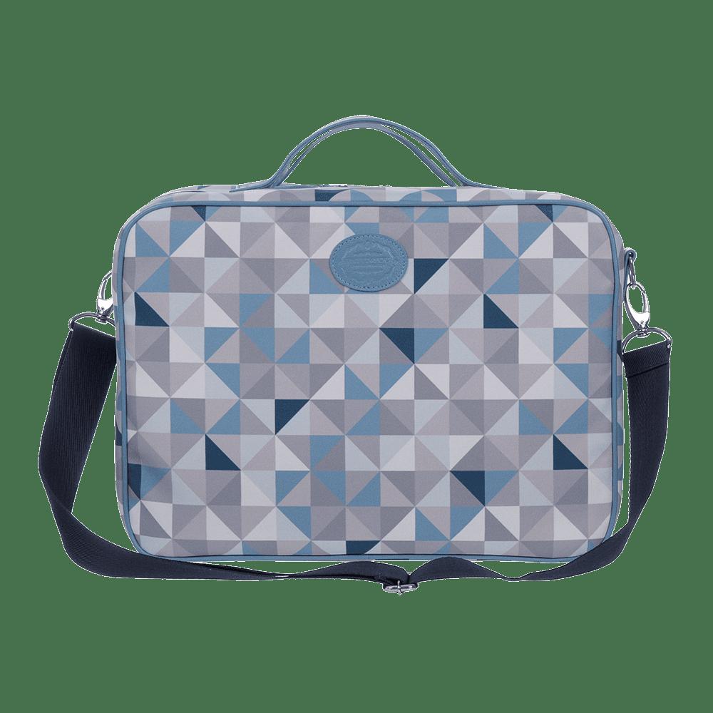 Mini mala geometric azul