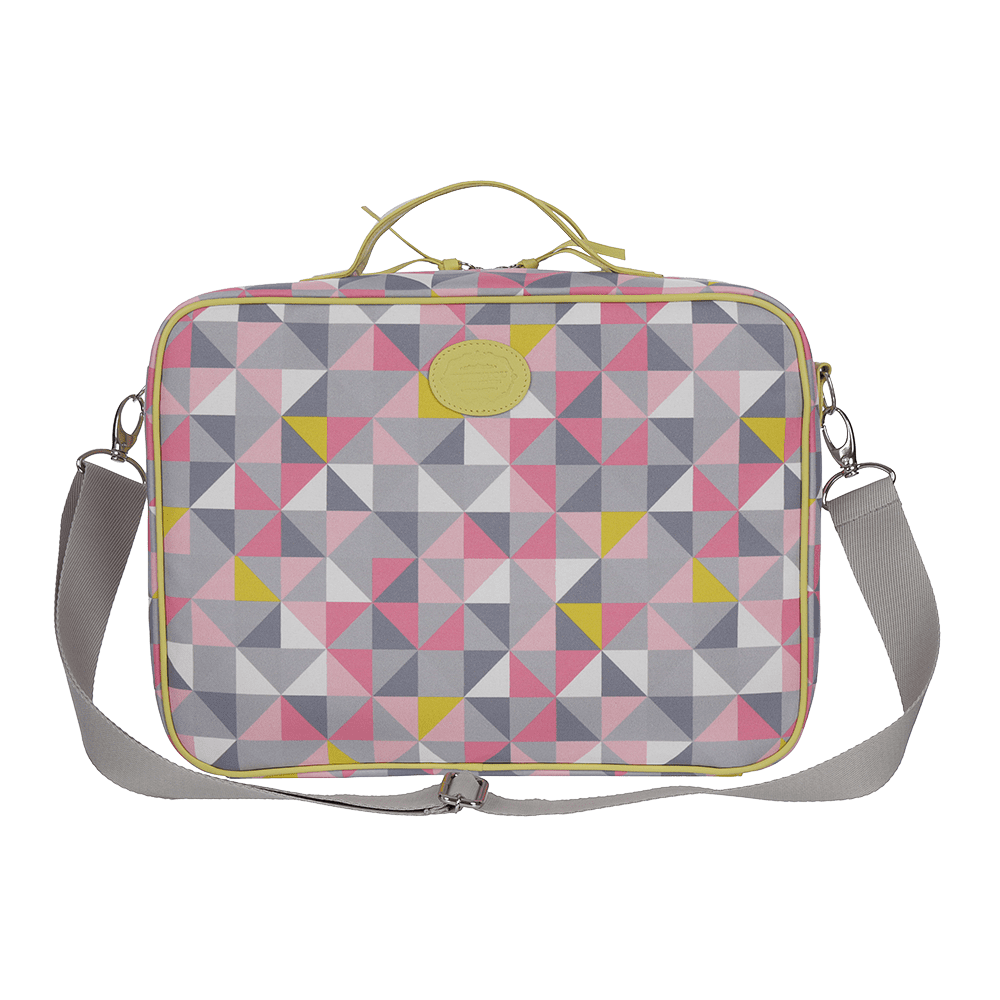 Mini Mala Geometric Rosa