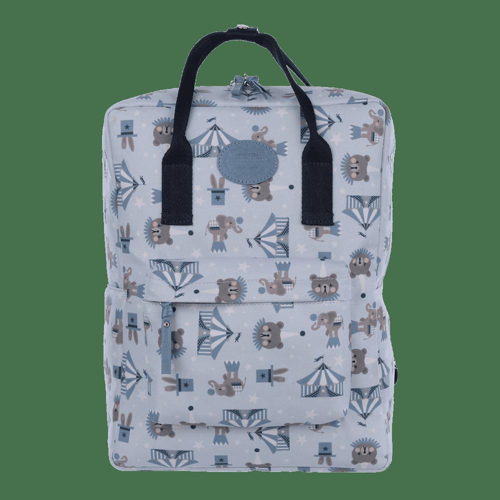 mochila circus azul