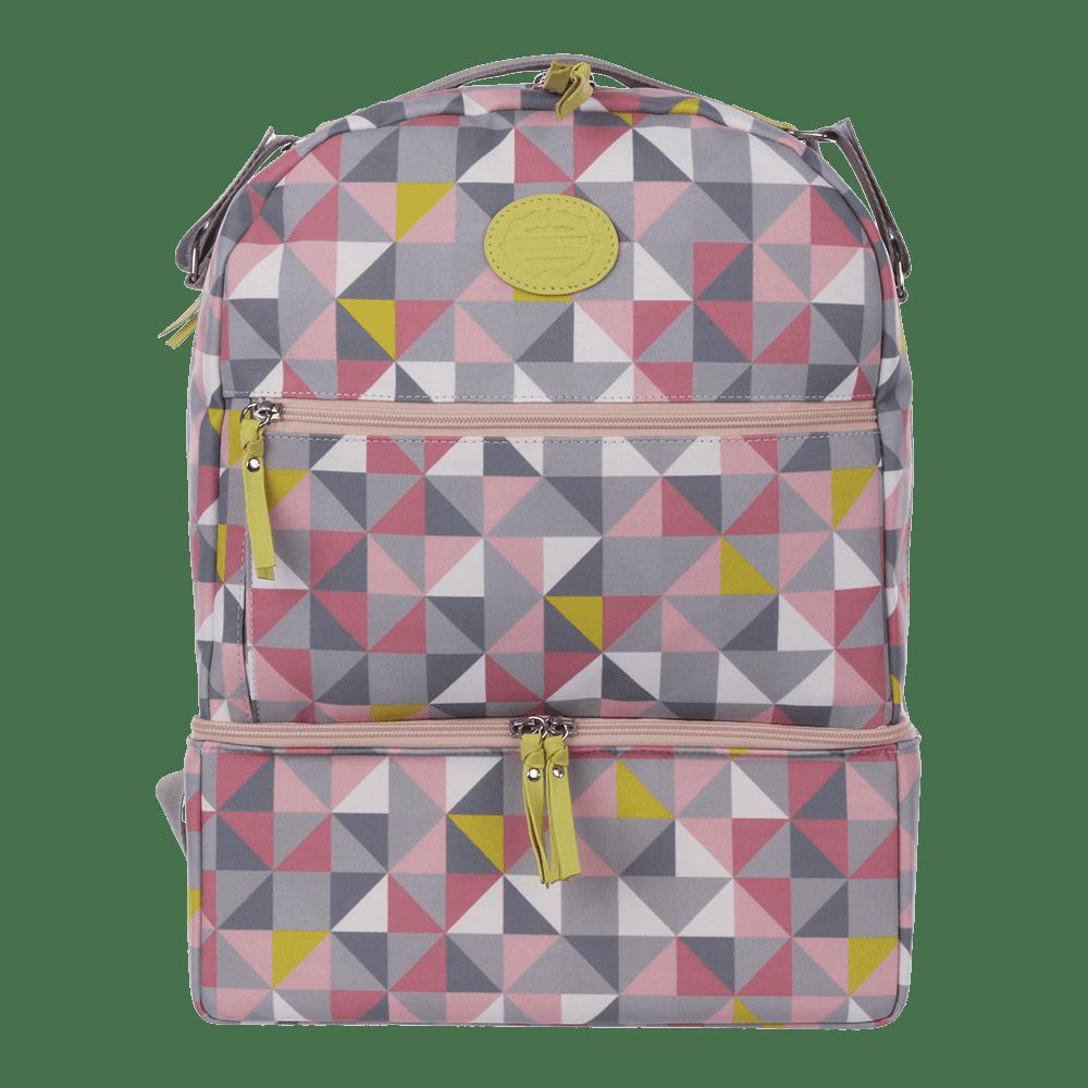 Mochila Com Base Geometric Rosa