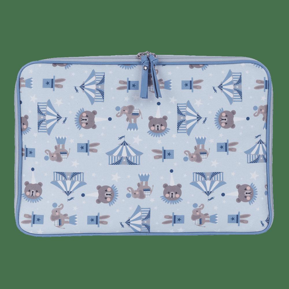 Pasta Notebook Circus Azul
