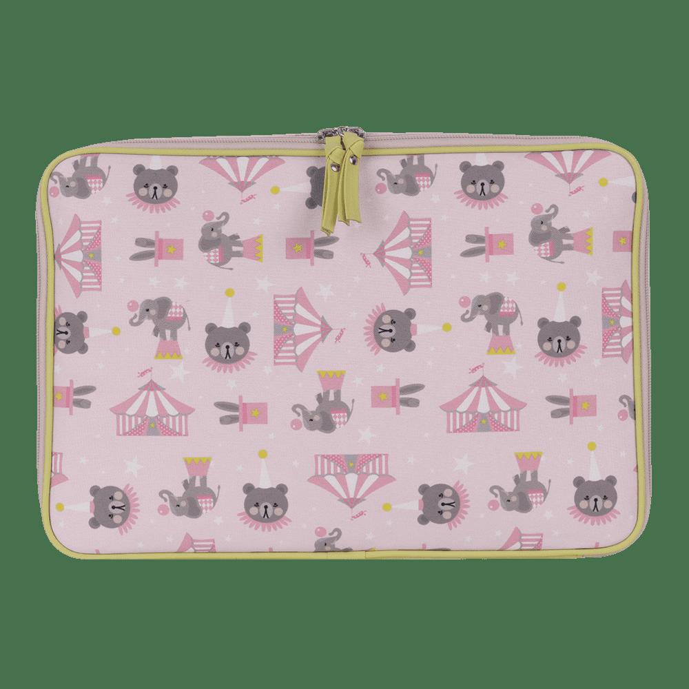 Pasta notebook circus rosa