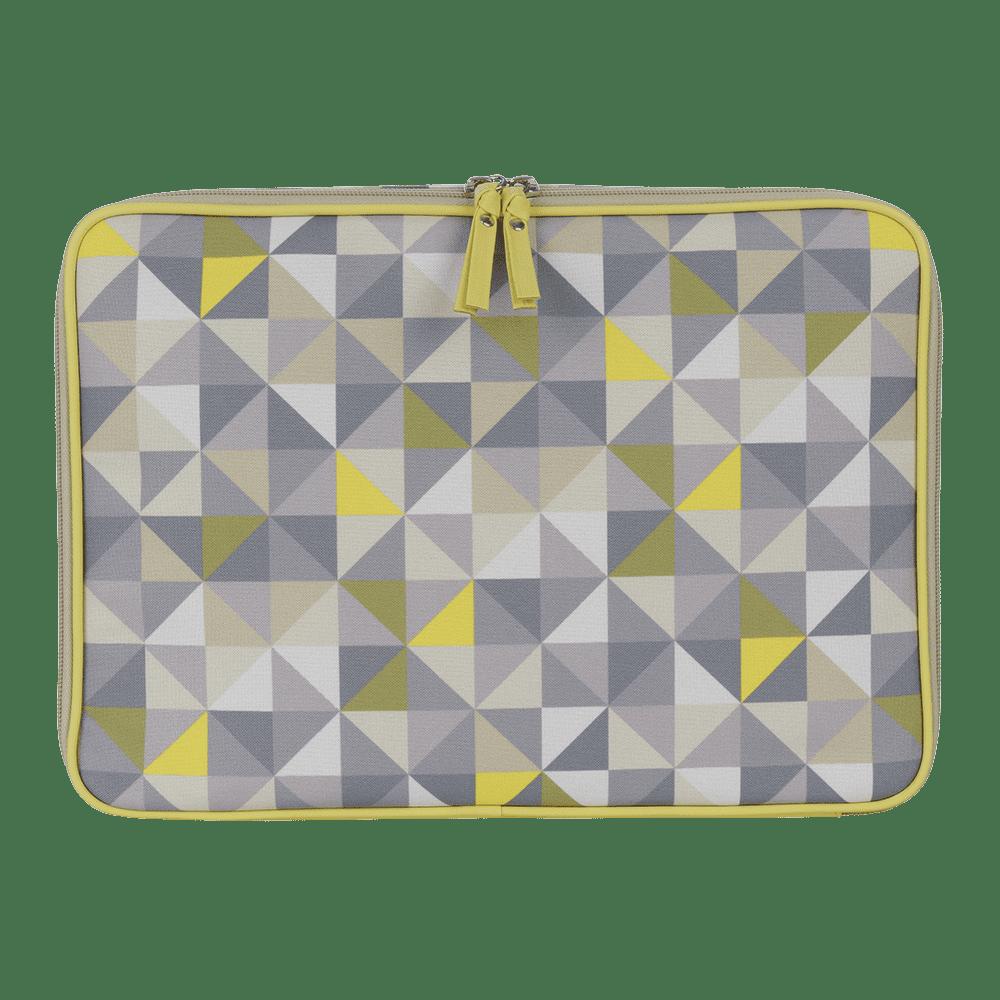 Pasta Notebook Geometric Verde