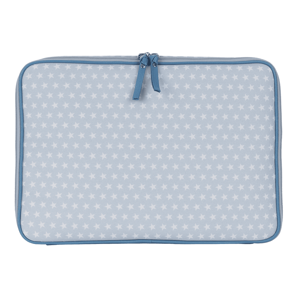 Pasta notebook star azul