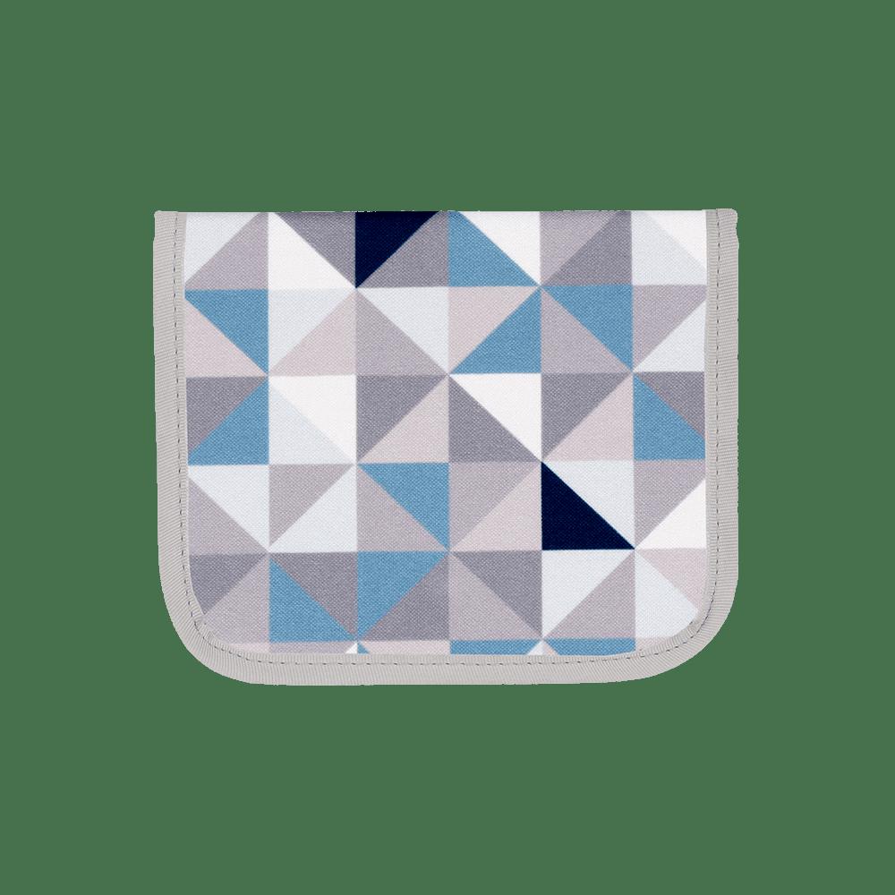 Porta Máscaras Geometric Azul