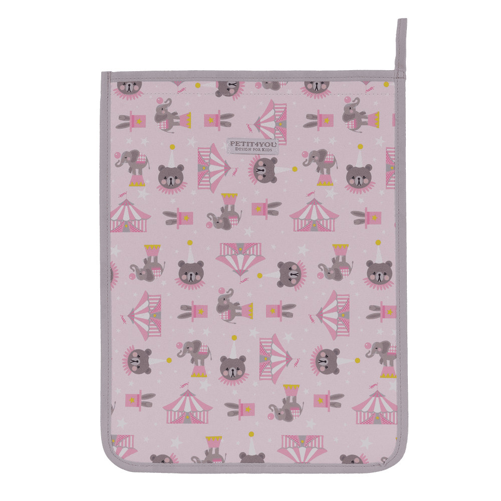 Saco de roupa circus rosa