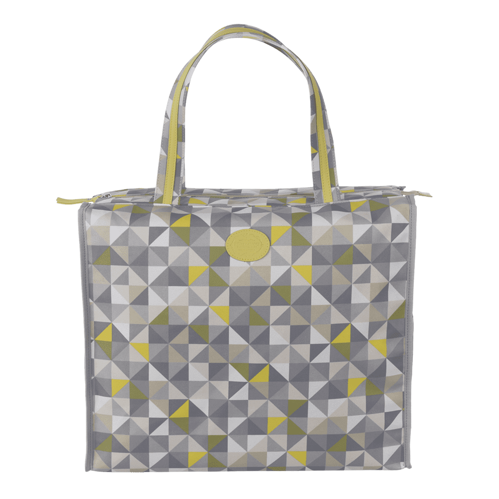 Shopbag Geometric Verde