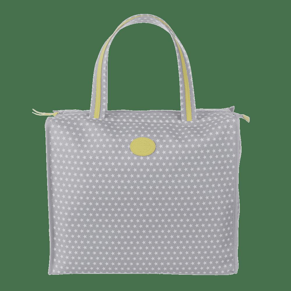shopbag star cinza