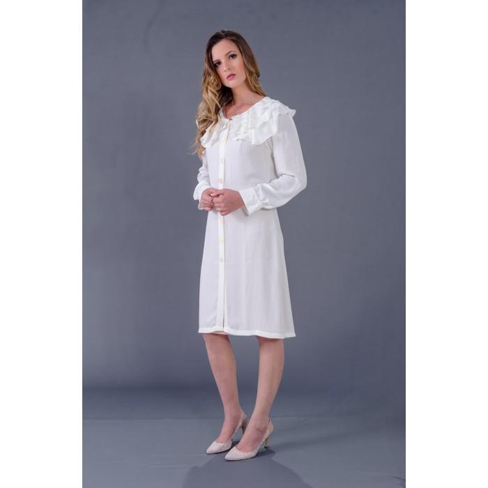 Jaleco Crepe New Sabia  - Luxo Branco - Jalecos Personalizado Feminino