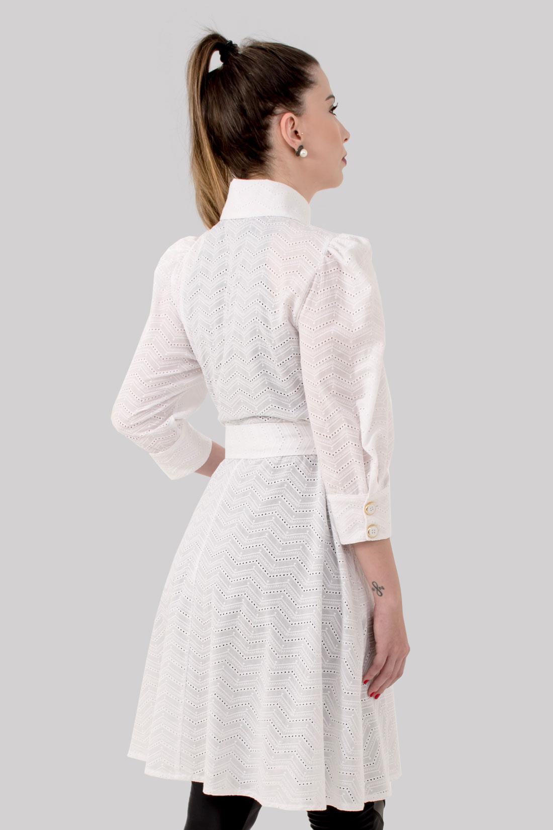 JALECO  JULIA  - Luxo Branco - Jalecos Personalizado Feminino