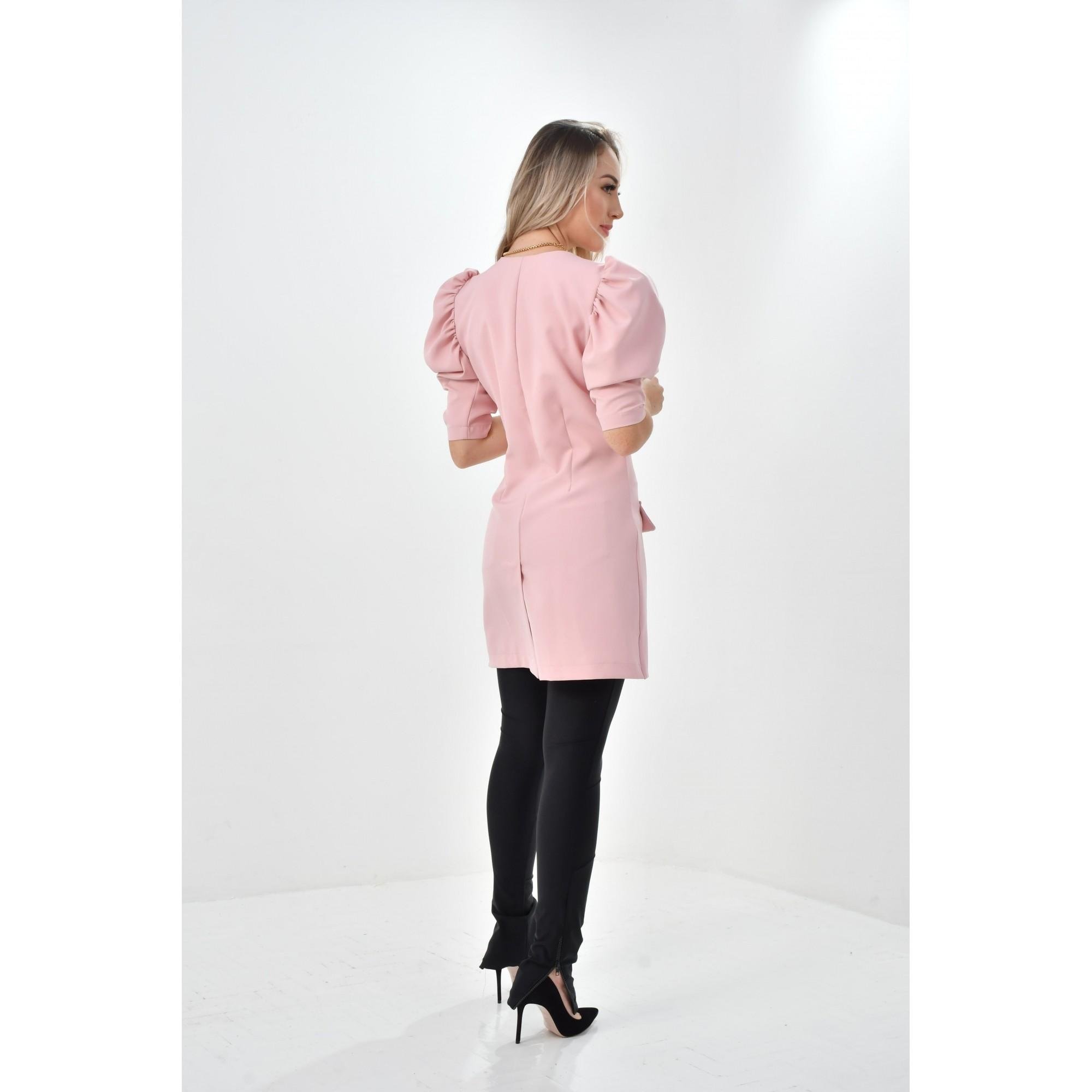 jaleco Paola  - Luxo Branco - Jalecos Personalizado Feminino
