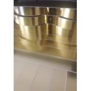 Papel Laminado Ouro 250g - c/20 fls Tamanho - 21,0 x 29,7