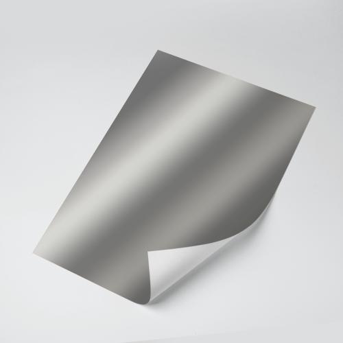 Cartolina Laminada (Prata) 150g - c/20 fls Tamanho - A4