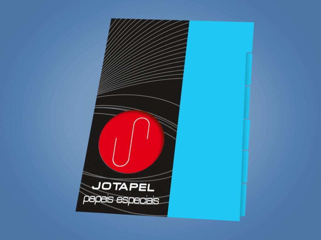Divisoria fichario Azul A4 - 04 f c/06fls
