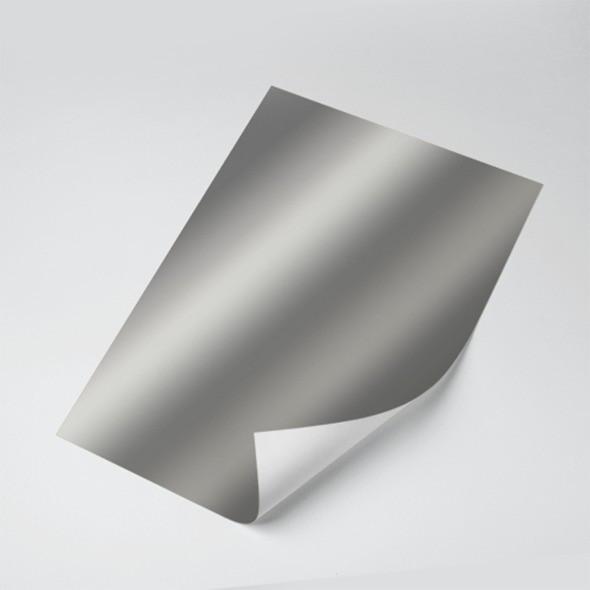 Papel Laminado (Prata) 250g - c/20 fls Tamanho - A4