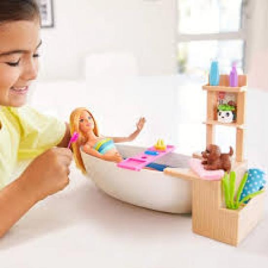 Barbie Banho De Espumas, Gjn32, Mattel