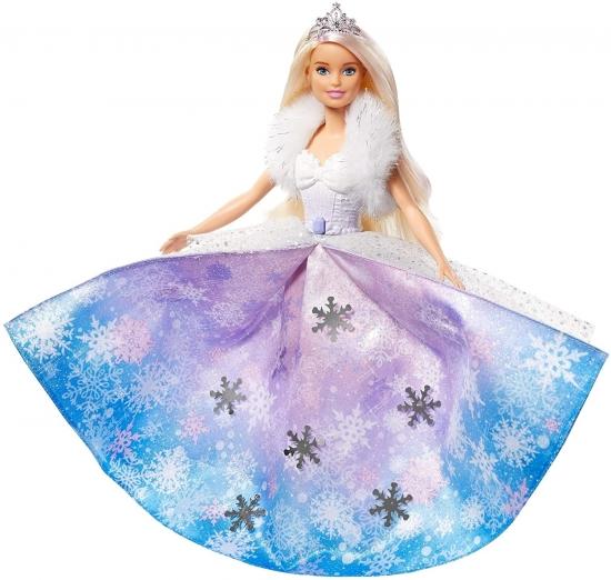 Barbie Princesa Com Vestido Mágico Gkh26 - Mattel