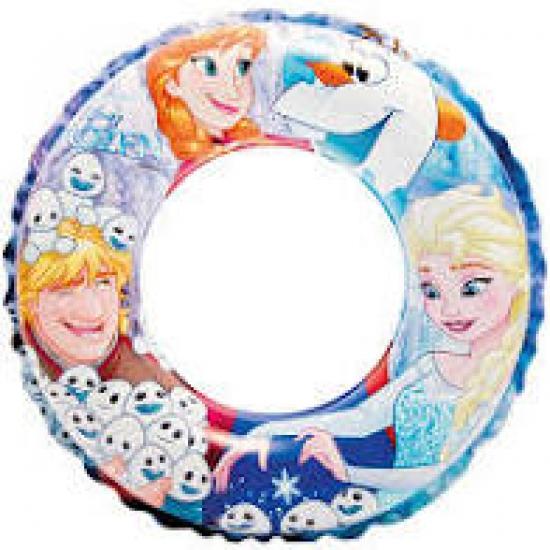 Boia Inflável Disney Frozen Intex Piscina PVC Média 51cm