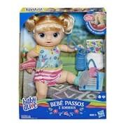 Boneca Baby Alive - Bebê Passos E Sorrisos - Loira - Hasbro