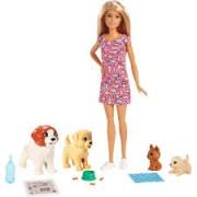 Boneca Barbie Treinadora de Cachorros