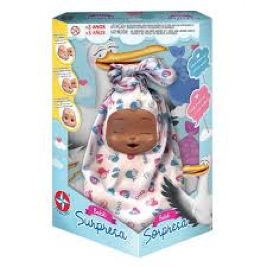 Boneca Bebe Surpresa