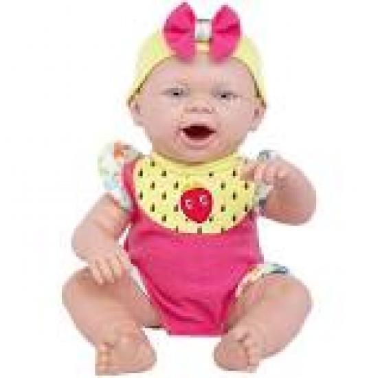Boneca Hora Do Lanche Reborn Baby Ninos Papinha Cotiplás