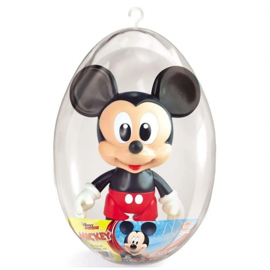 Boneco Mickey No Ovo Coleção Mickey E Minnie Lider