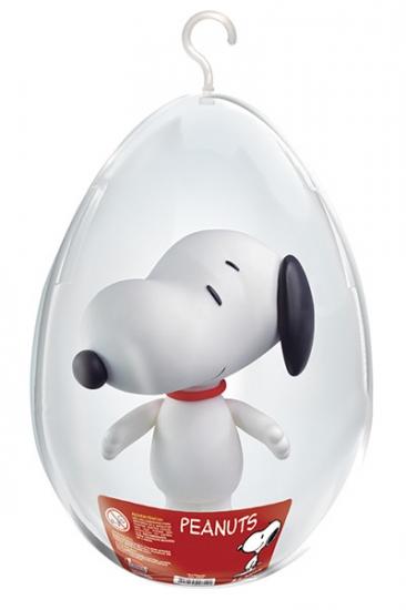 Boneco Snoop No Ovo Coleção Peanuts Snoopy Lider