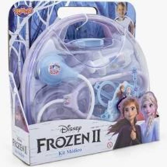 Conjunto Kit Médico Com Maleta Disney Frozen 2