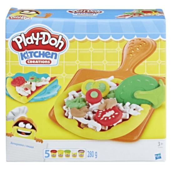 Conjunto Play Doh Festa da Pizza