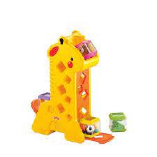Girafa e Blocos Fisher Price
